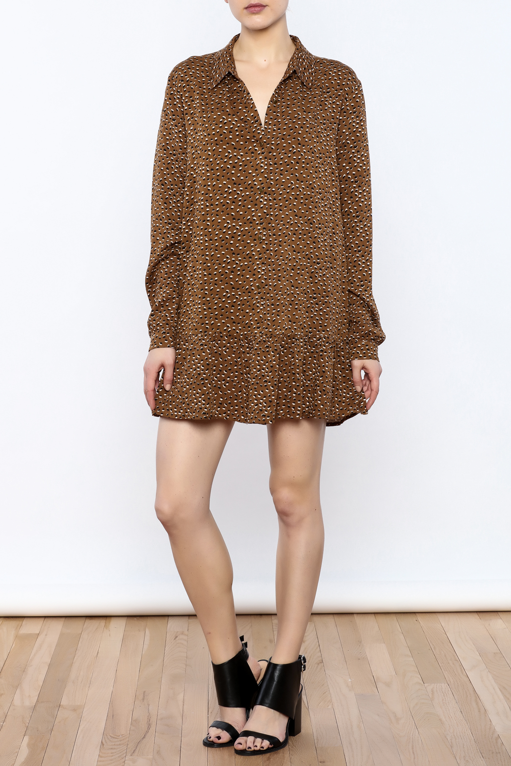 Knot Sisters Cedar Dress - Front Full Image