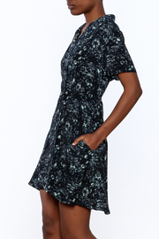 Knot Sisters Floral Button-Down Dress - Product Mini Image