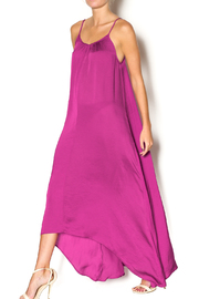 Knot Sisters Magenta Maxi - Front full body