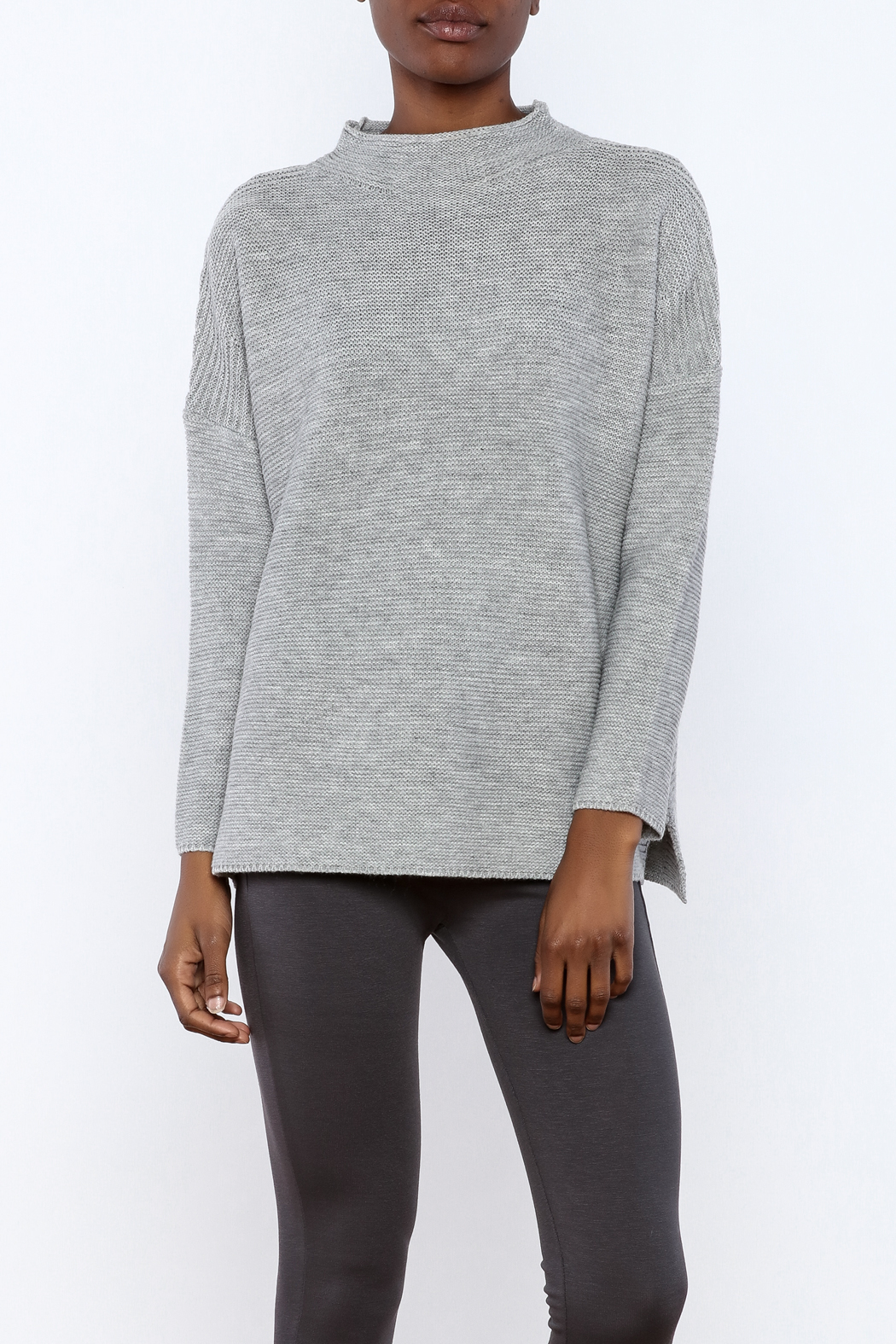 Knot Sisters Mock Turtleneck Sweater From Indiana By Luxe