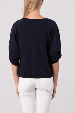 Margaret O'Leary Knot Sleeve Pullover - Alternate List Image