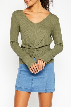 Sadie and Sage Knot Top - Product List Image