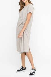 Lush Clothing  Knot Twist Midi Dress - Product Mini Image