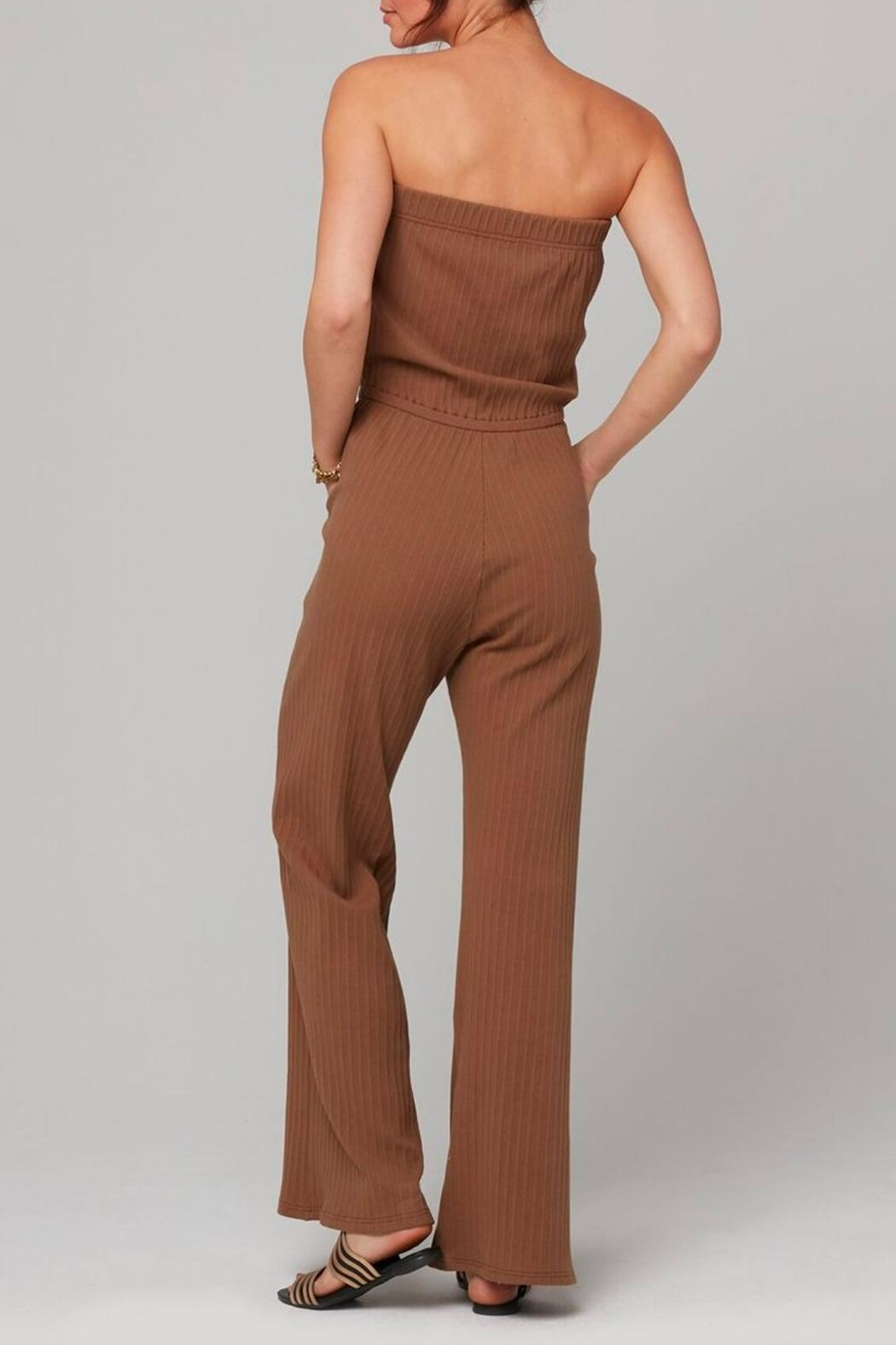 Knot Sisters Angeline Jumpsuit - Side Cropped Image