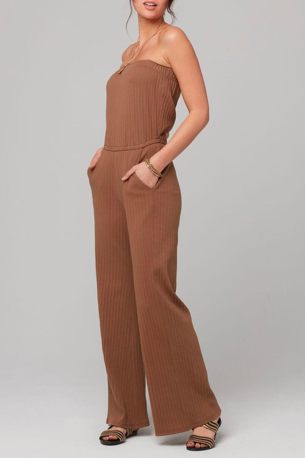Knot Sisters Angeline Jumpsuit - Front Full Image
