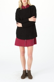 Knot Sisters Black Purba Sweater - Front cropped