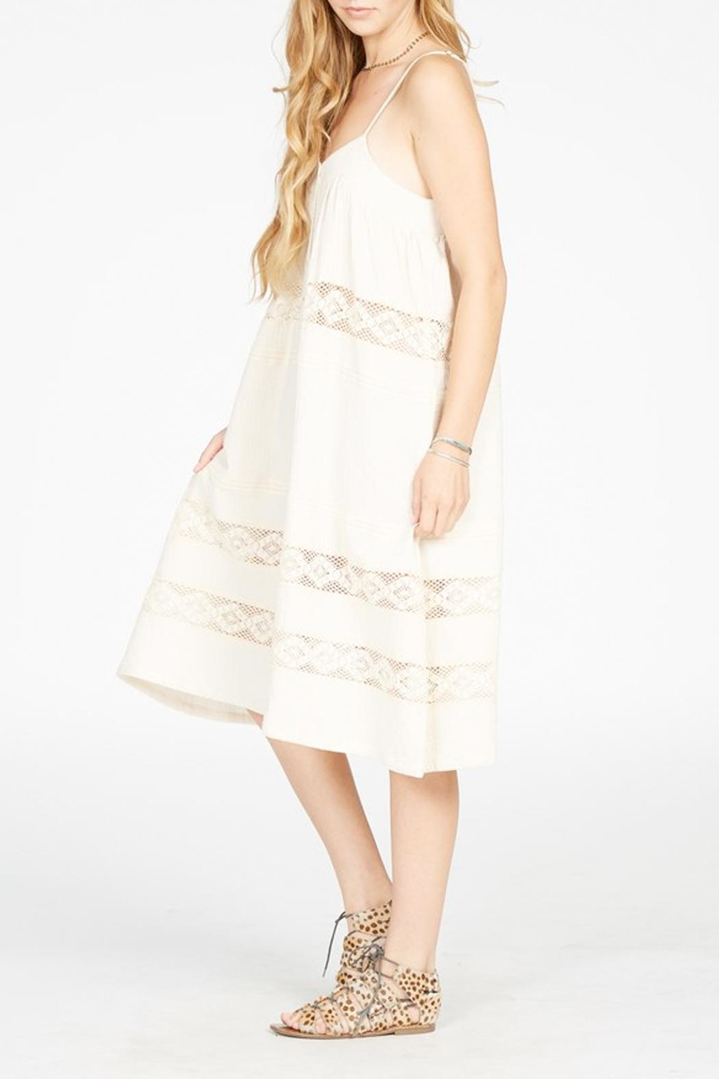 Knot Sisters Annie Midi Dress - Front Full Image