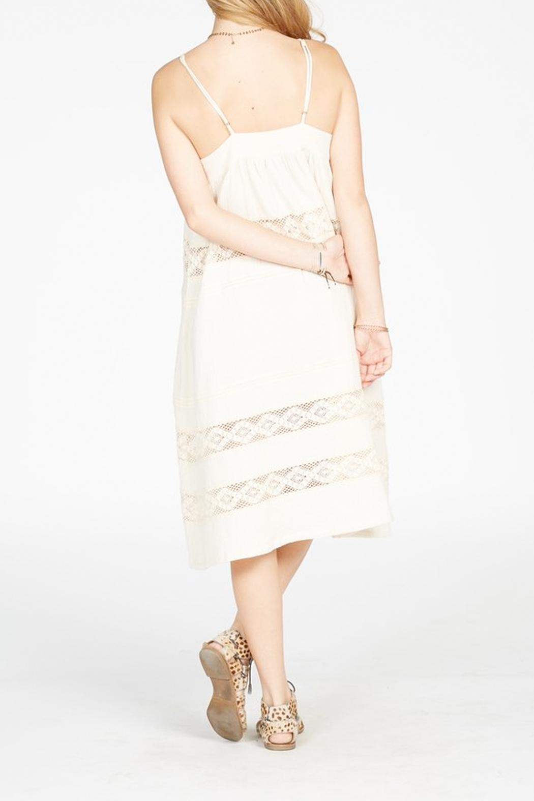 Knot Sisters Annie Midi Dress - Side Cropped Image