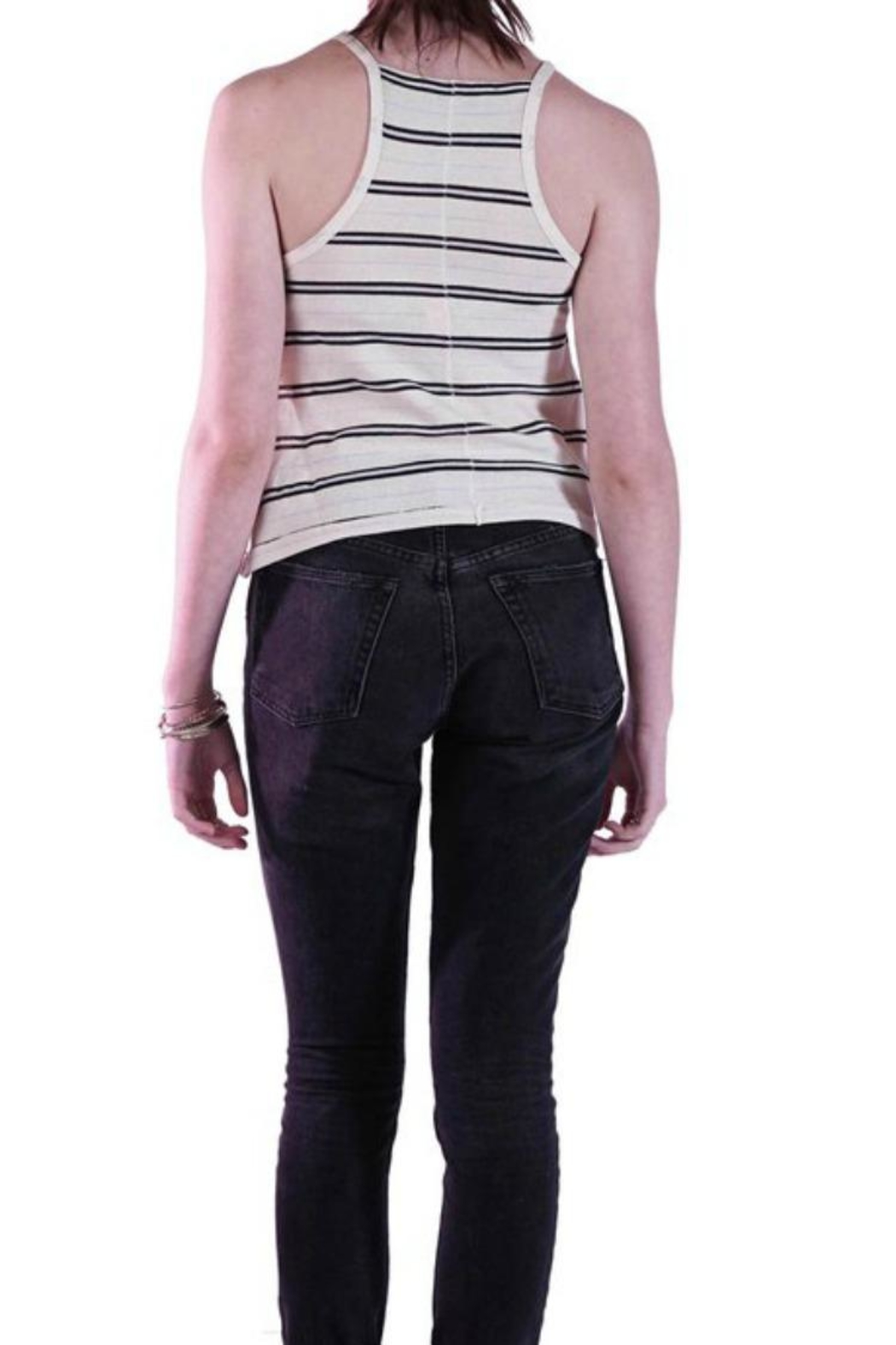 Knot Sisters Cobain Tank - Front Full Image