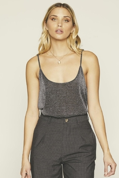 Knot Sisters Crescent Tank Silver - Product List Image