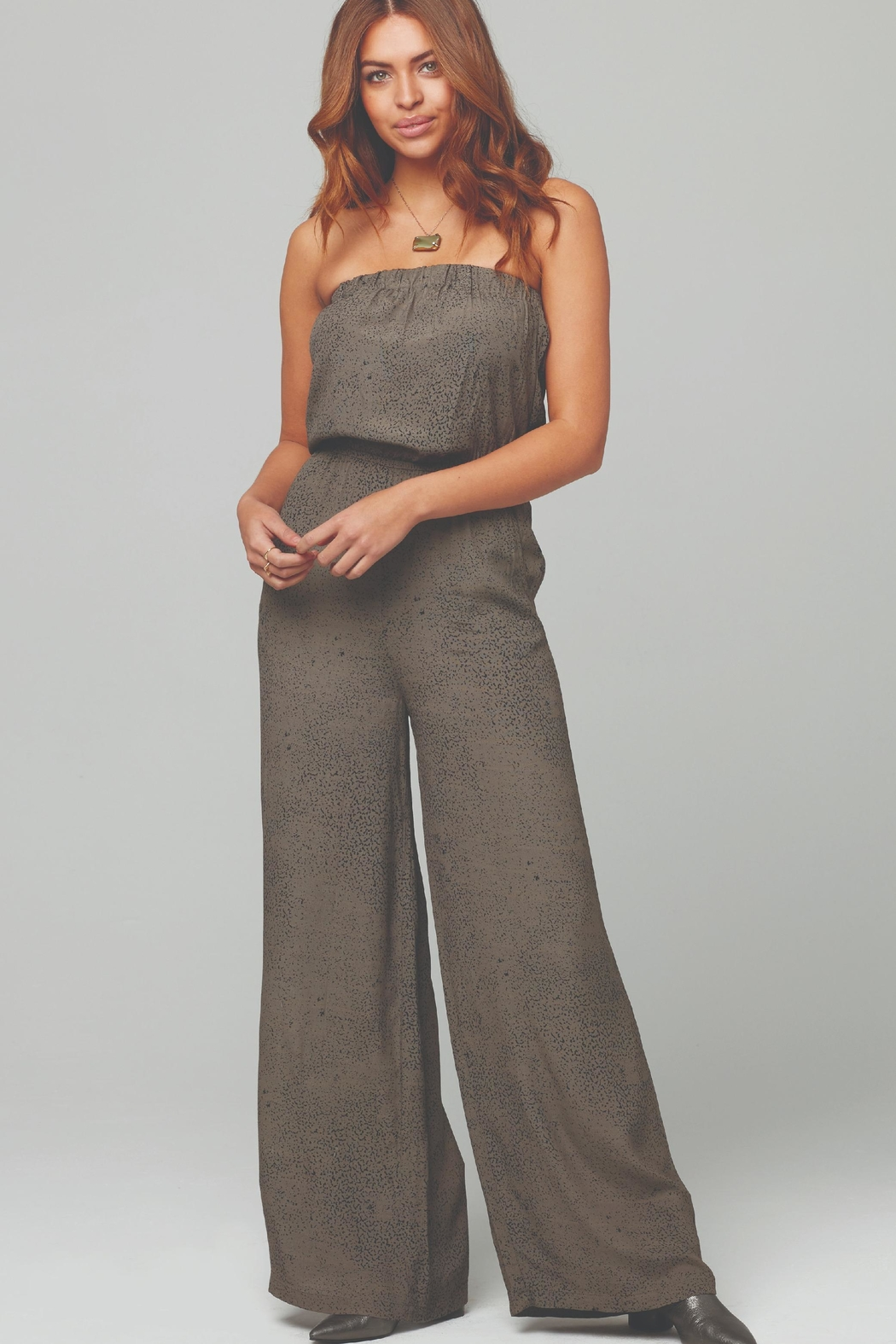 Knot Sisters Farrah Jumpsuit - Front Cropped Image