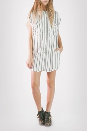 Knot Sisters Jones Shirt Dress - Product Mini Image