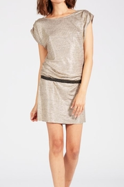 Knot Sisters Metallic Disco Dress - Product Mini Image