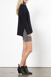 Knot Sisters Neilson Navy Sweater - Front full body