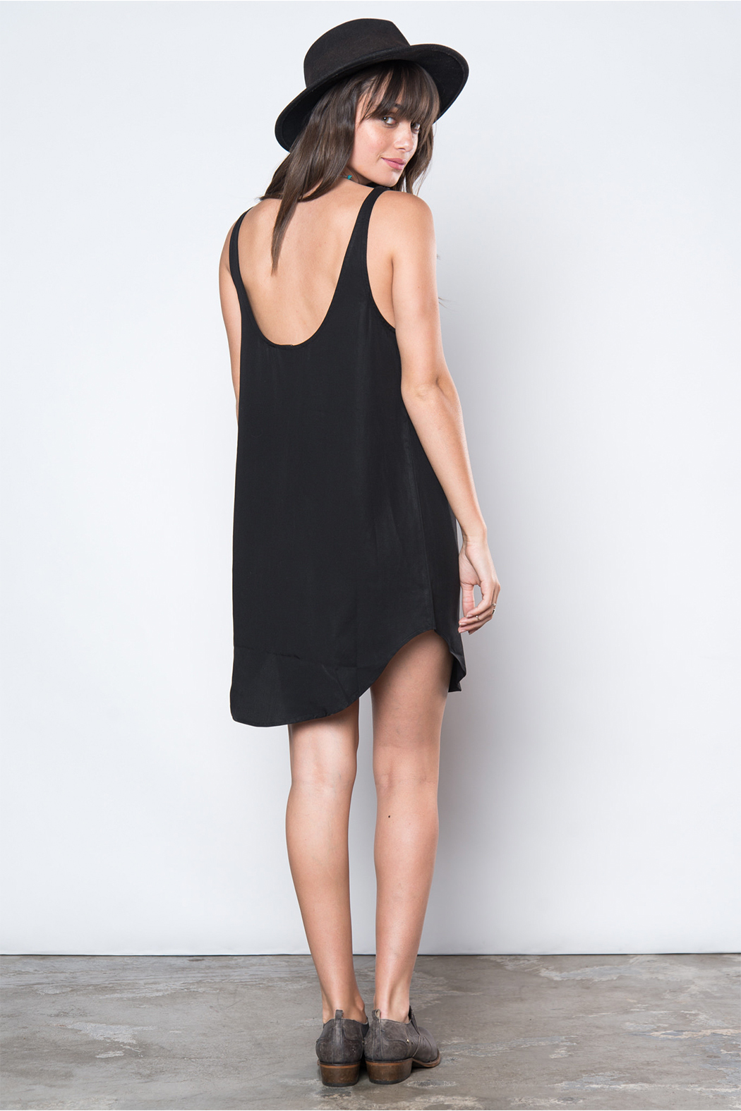 Knot Sisters Night Dancer Dress - Back Cropped Image