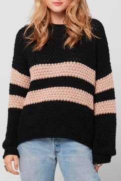 Shoptiques Product: Ozzy Striped Sweater