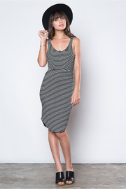 Knot Sisters Racer Stripe Dress - Product Mini Image