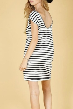 Knot Sisters Sailor Off Shoulder Dress - Alternate List Image