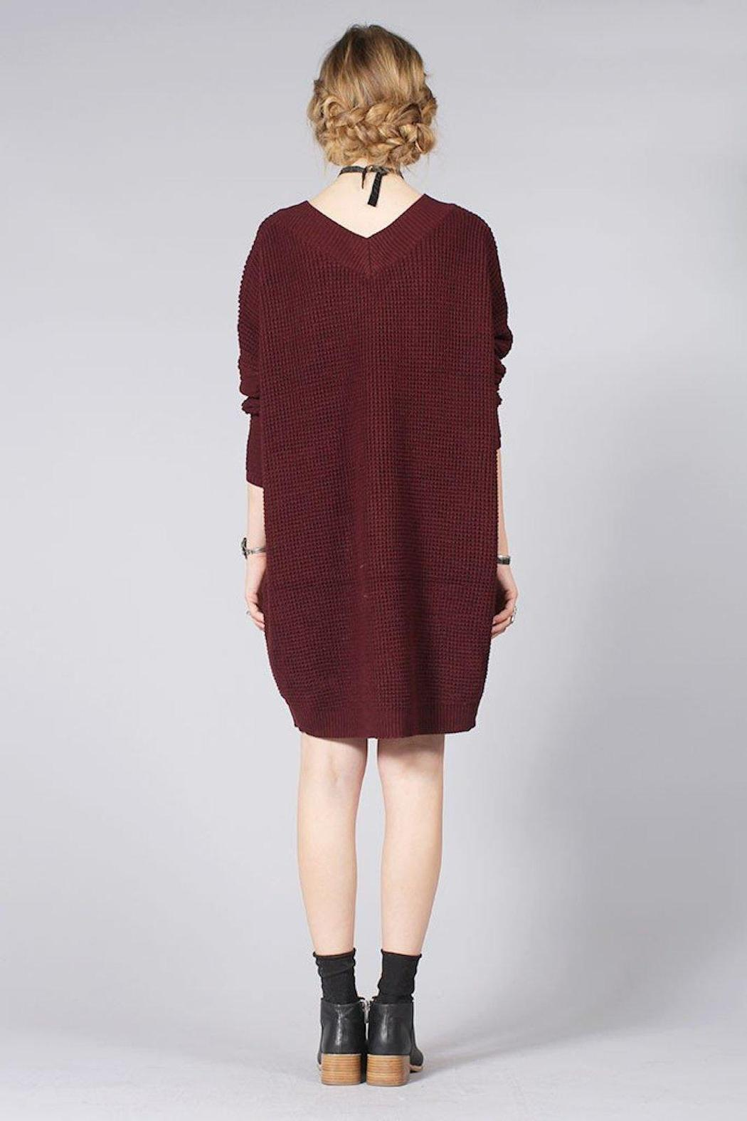 Knot Sisters Salt Sweater Dress - Front Full Image
