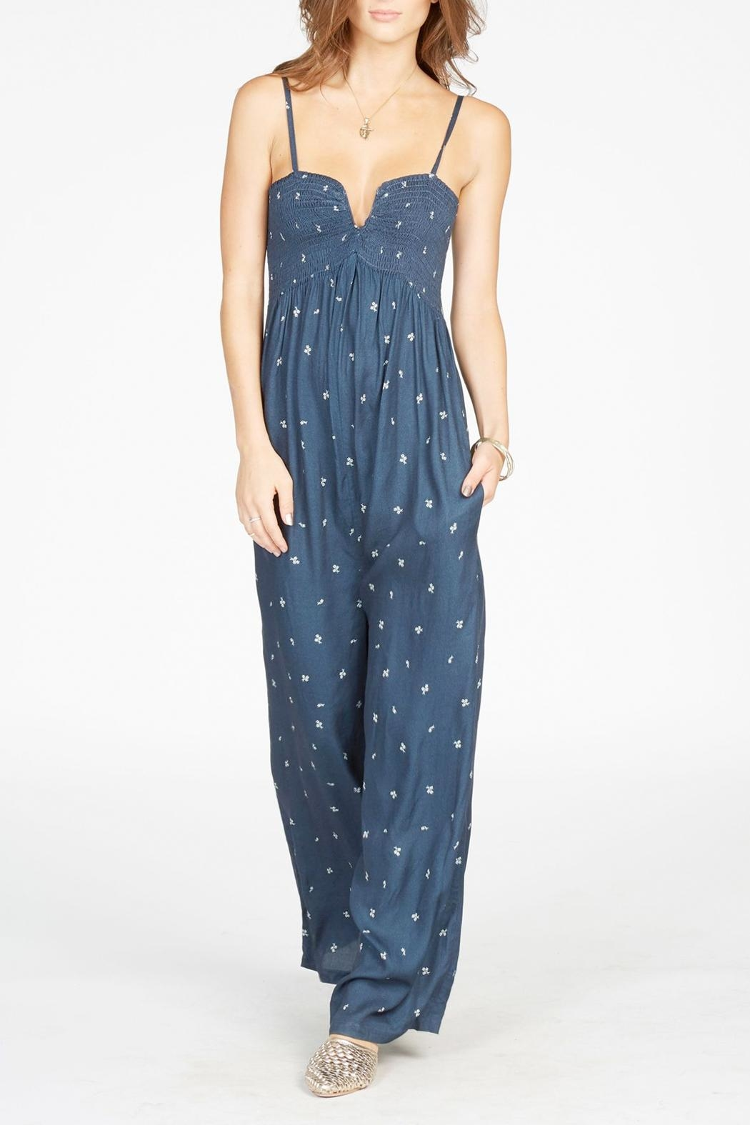 Knot Sisters West Sweeteheart Jumpsuit - Main Image