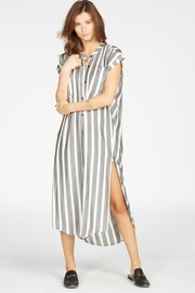 Knot Sisters Striped Woven Dress - Product Mini Image