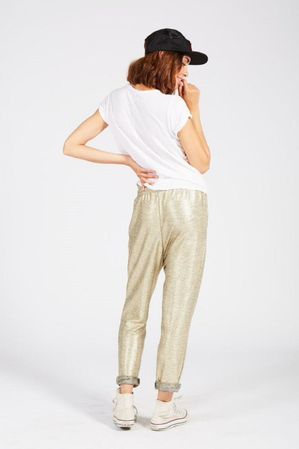 Knot Sisters Studio Pant - Back Cropped Image