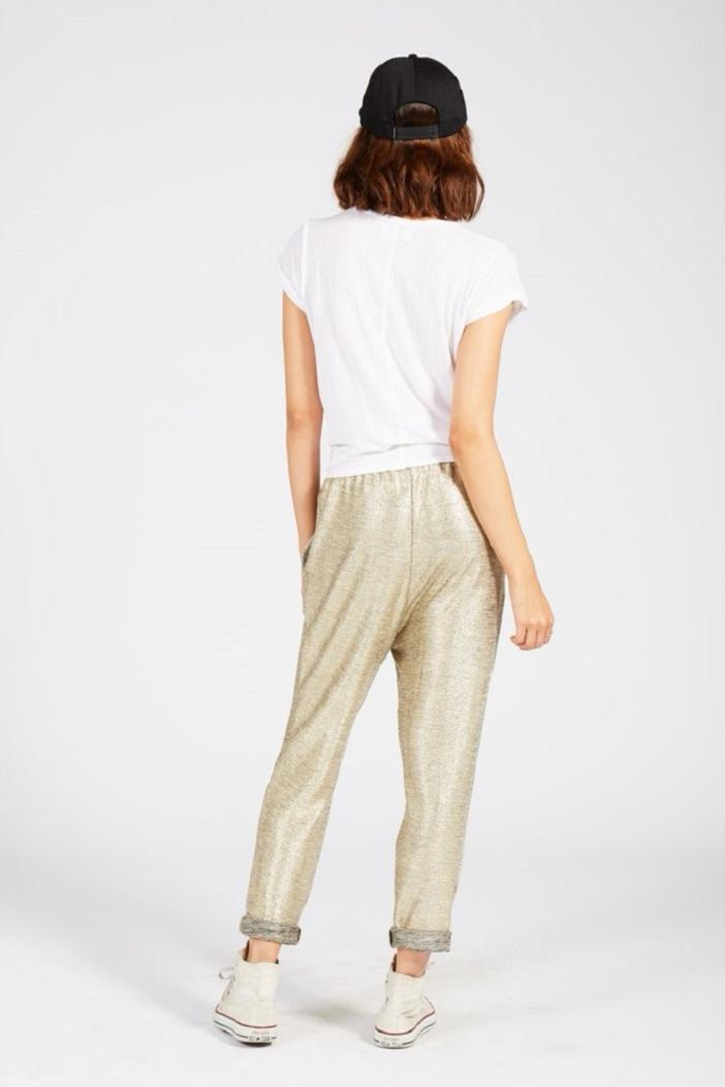 Knot Sisters Studio Pant - Side Cropped Image