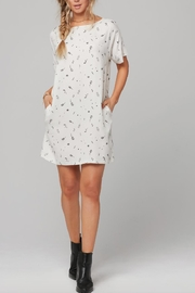 Knot Sisters White Pappy Dress - Product Mini Image