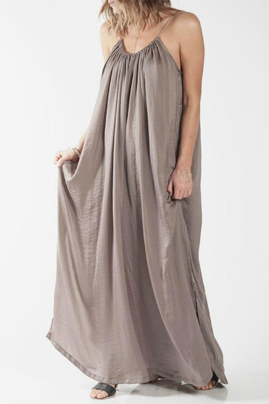 Knot Sisters Yvonne Maxi Dress - Front Full Image