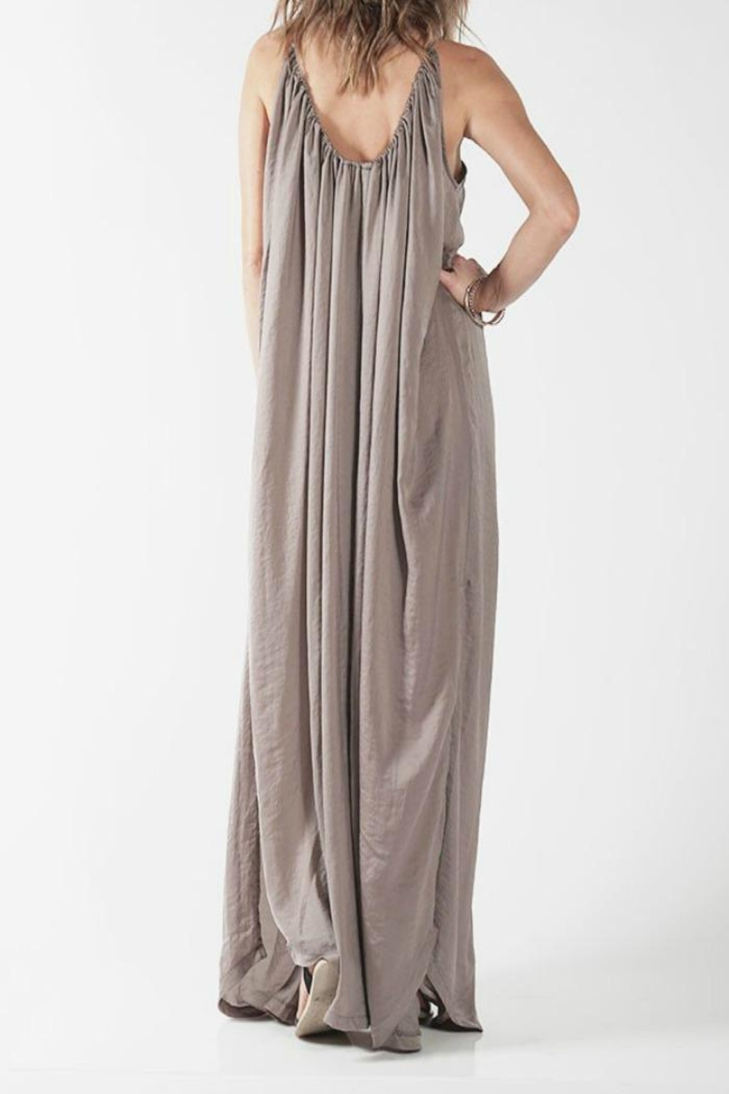 Knot Sisters Yvonne Maxi Dress - Side Cropped Image