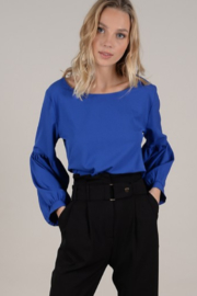 Molly Bracken Knotted Back Blouse - Product Mini Image