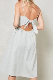 LuLu's Boutique Knotted-Back Midi Dress - Side cropped