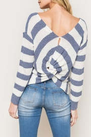 Mystree Knotted Back Sweater - Product Mini Image