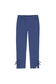 Deux Par Deux Knotted Blue Legging - Alternate List Image