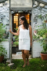 Femme Boutique Boston  Knotted Cami Dress - Product Mini Image
