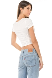 Unknown Factory Knotted Crop Top - Front full body