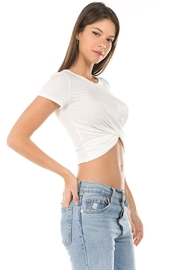Unknown Factory Knotted Crop Top - Side cropped