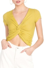 Dance and Marvel Knotted Crop Top - Product Mini Image