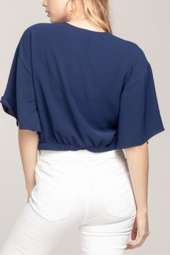Everly Knotted Crop Top - Alternate List Image