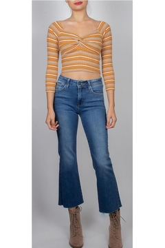 Illa Illa Knotted Front Crop-Top - Product List Image