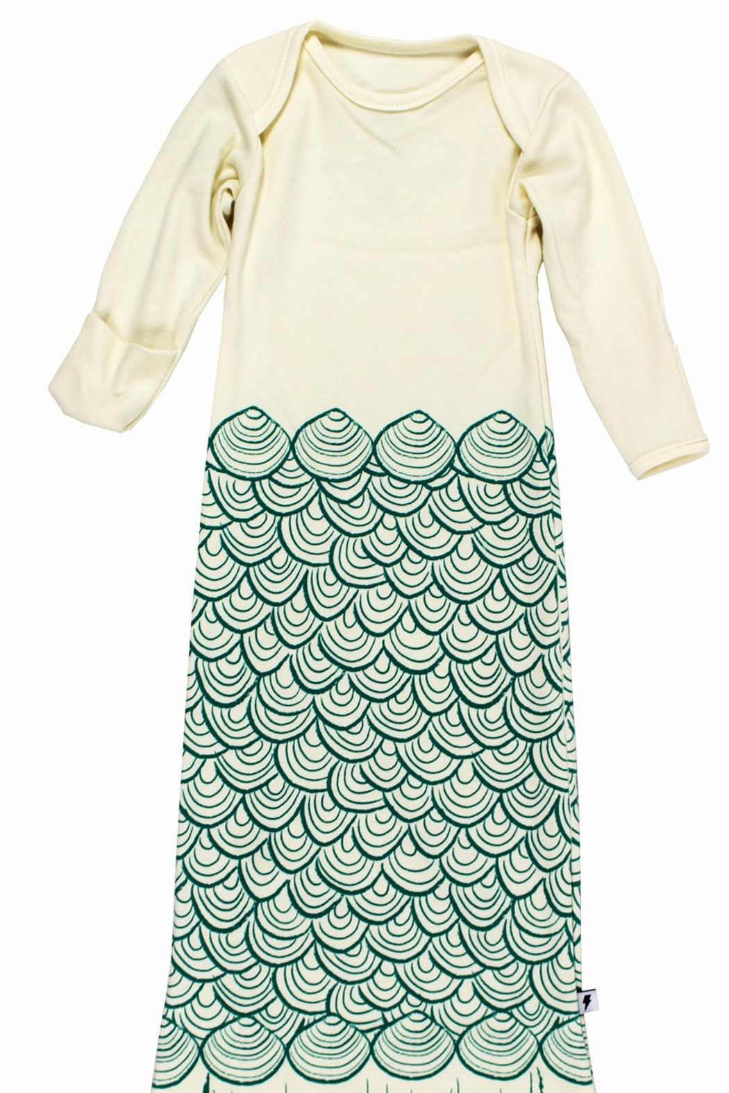 Electrik Kidz Knotted Gown - Mermaid - Front Full Image