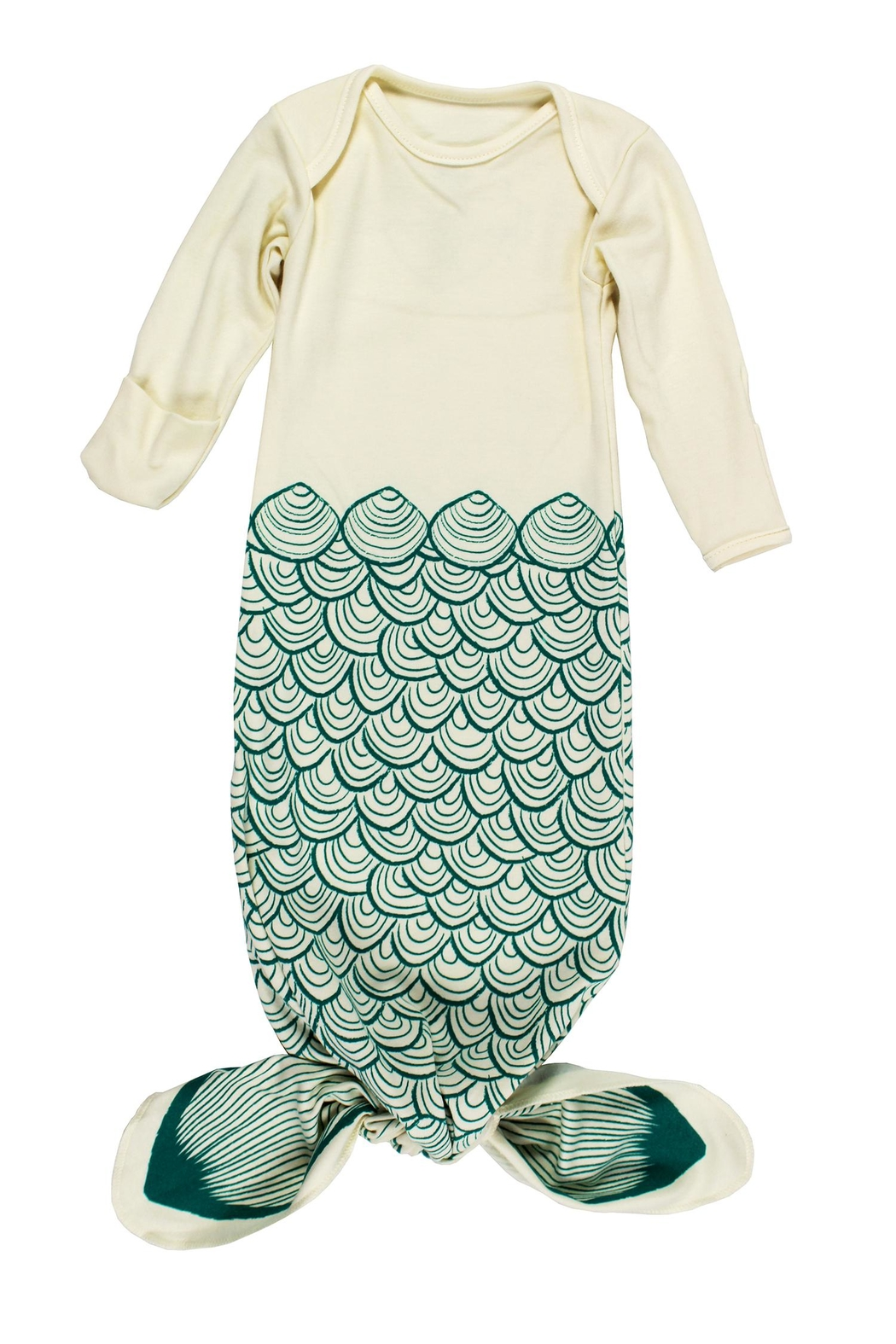 Electrik Kidz Knotted Gown - Mermaid - Main Image