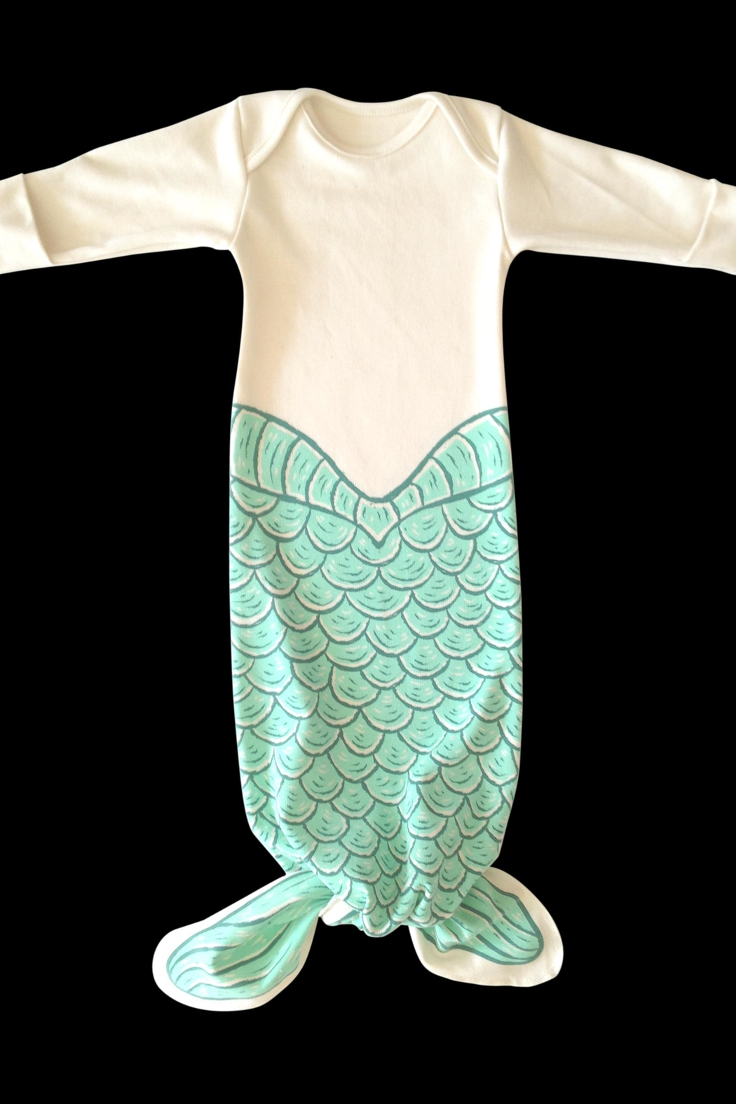 Electrik Kidz Knotted Gown - Mermaid2 - Main Image