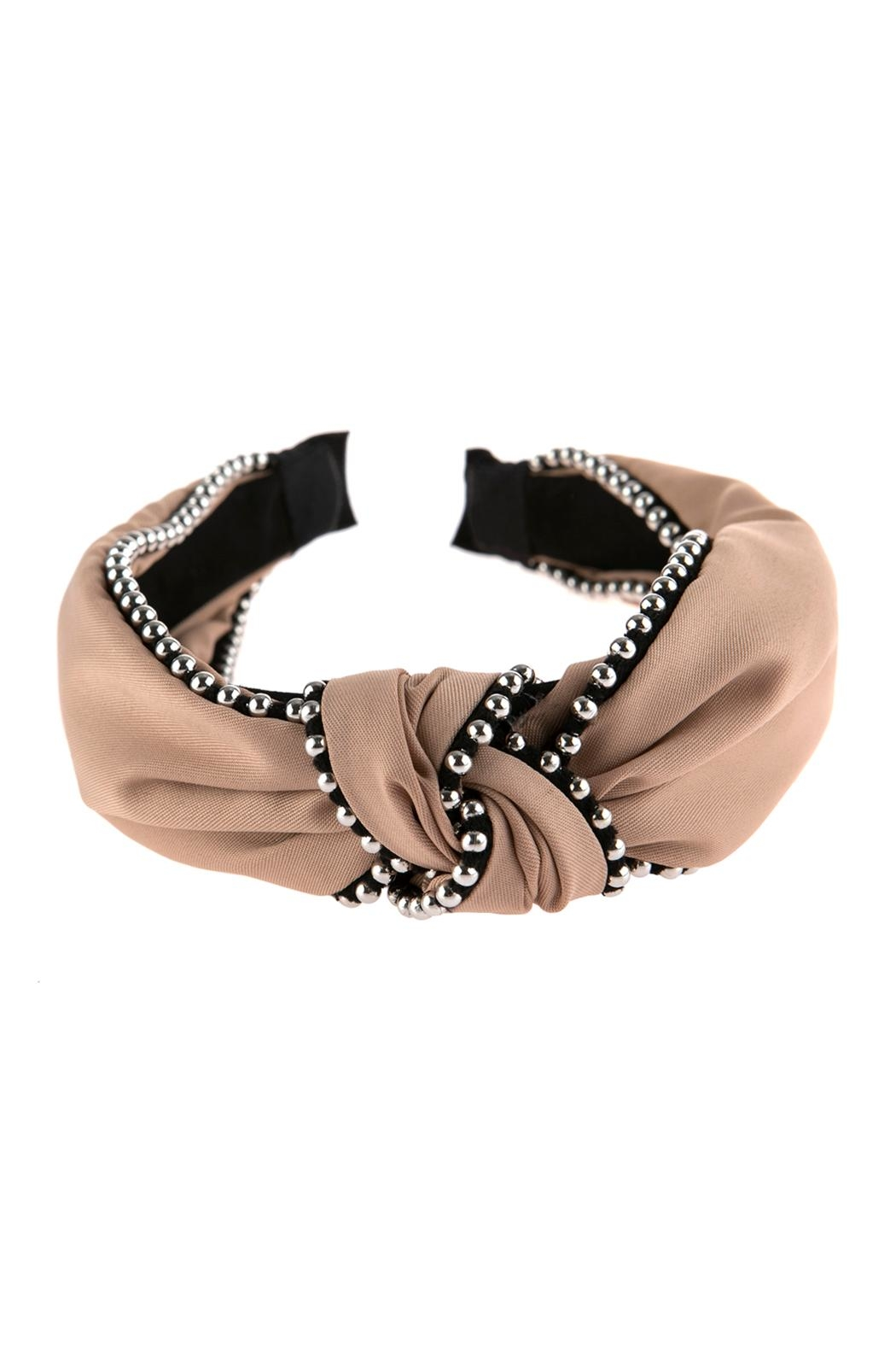 Riah Fashion Knotted Headbands - Front Cropped Image