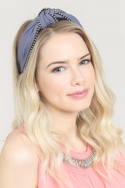 Riah Fashion Knotted Headbands - Back cropped