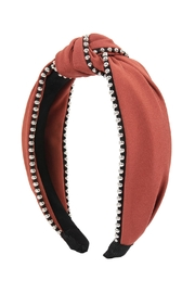Riah Fashion Knotted Headbands - Front full body