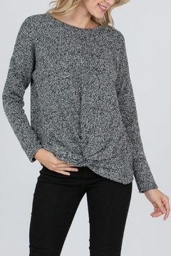 veveret Knotted Knit Sweater - Product List Image