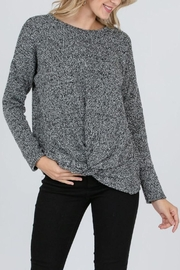 veveret Knotted Knit Sweater - Product Mini Image
