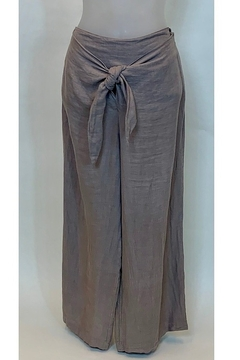 Tempo Paris  KNOTTED PALAZZO PANT - Product List Image