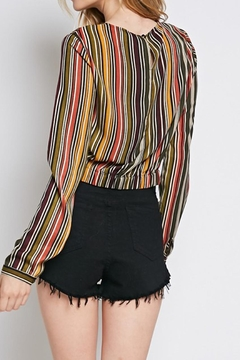 Idem Ditto  Knotted Stripe Blouse - Alternate List Image